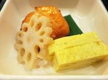 Egg and Salmon and Lotus