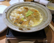 Eel and steamed egg